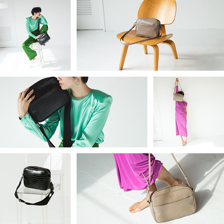 EM SQUARE SHOULDER BAG